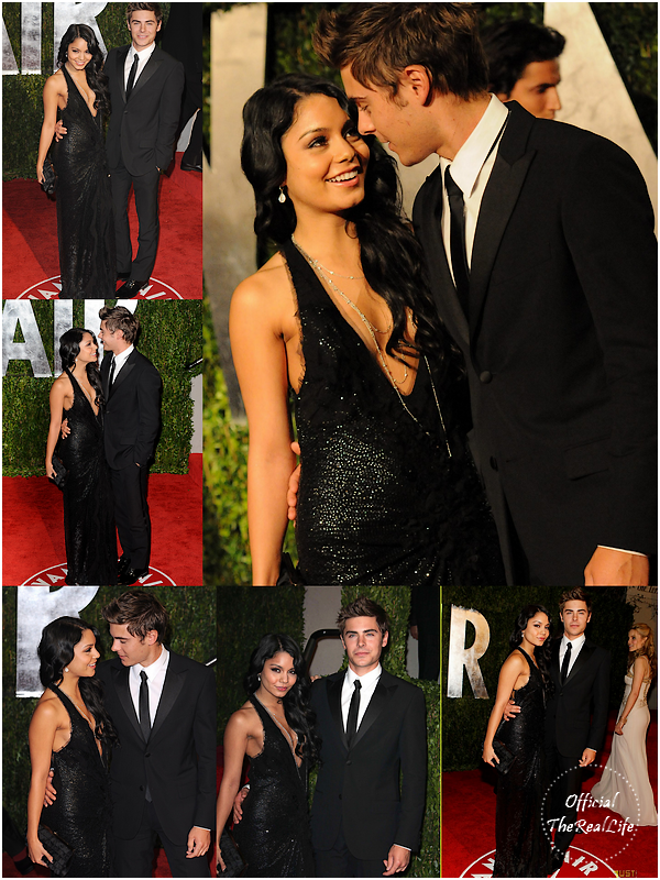© Official-TheRealLife™  07/03/10  ※  Zac et Vanessa sur le red carpet de l'after party Vanity Fair des Oscar à Los angeles.  _