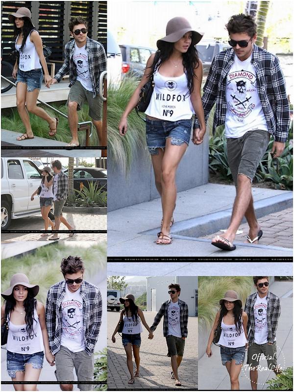 © Official-TheRealLife™  24/03/10  ※  Zanessa se sont promener main dans la main jusqu'au Home Kitson à Beverly Hills.  _