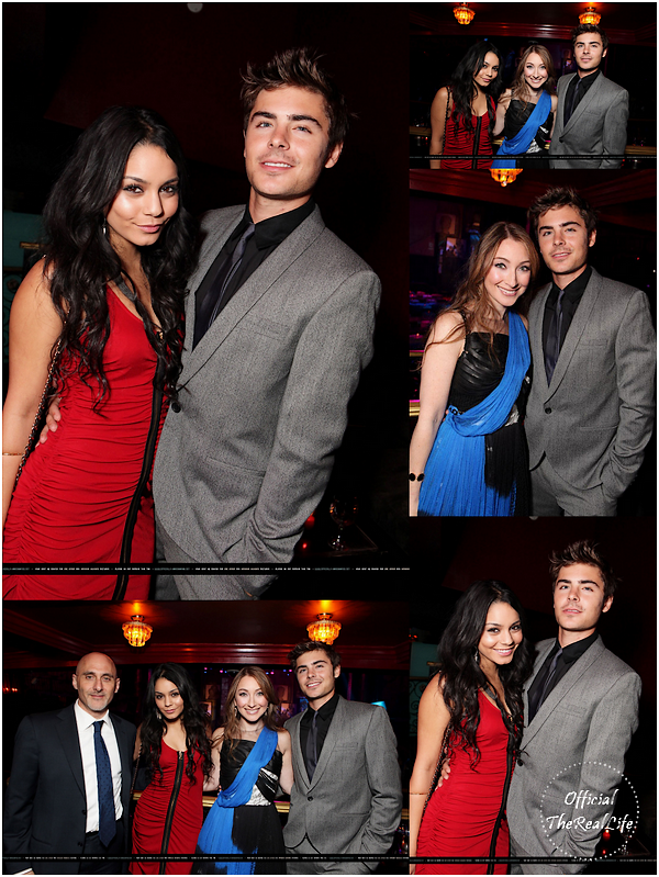 © Official-TheRealLife™  21/04/10  ※  Zac et Vanessa assitent au Gala Habitation Familiale de Los angeles à Hollywood.  _
