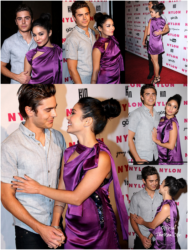 © Official-TheRealLife™  12/05/10  ※  Zac et Vanessa au Nylon Party Young Hollywood à Los Angeles.  _
