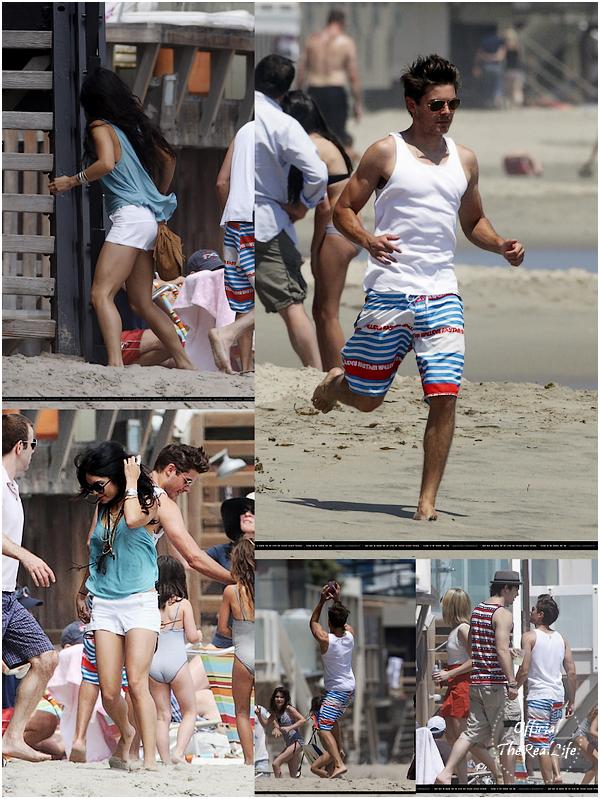© Official-TheRealLife™  04/07/10  ※  Zac et Vanessa pour la fête nationnal Américaine à Malibu.  _