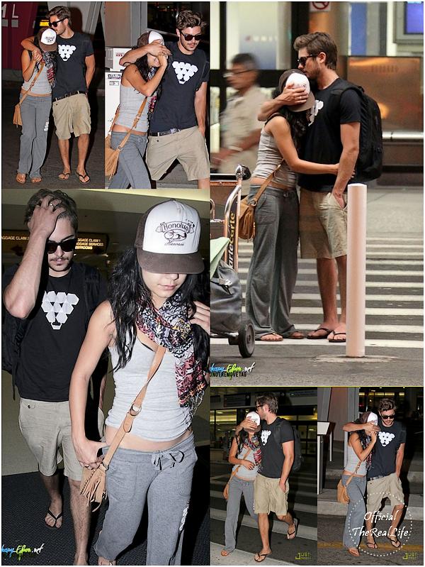 © Official-TheRealLife™  25/08/10  ※  Zac & Vanessa petite journée plage + le grand retour d'Hawaï.  _