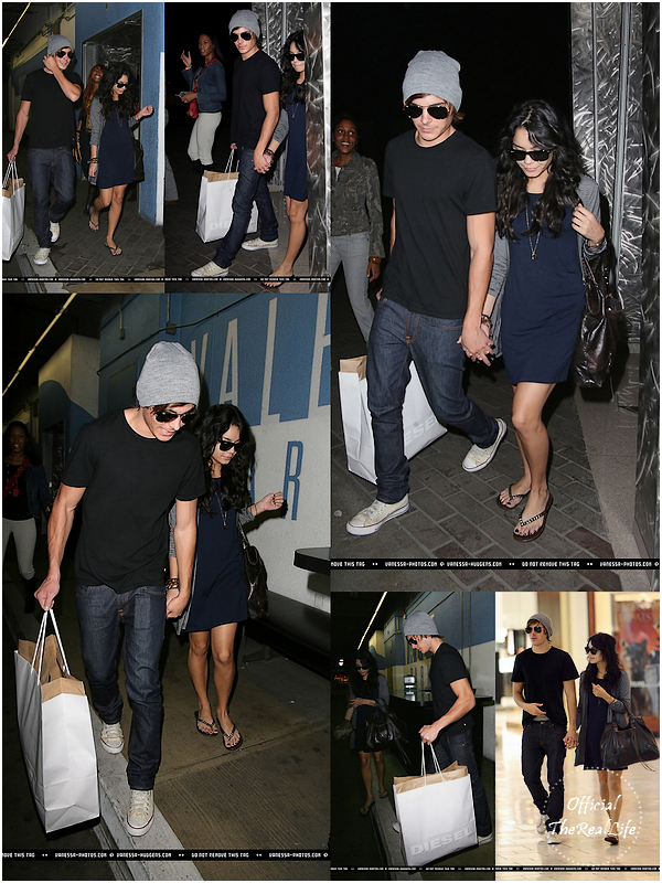 © Official-TheRealLife™  27/10/2007  ※  Shopping de Nuit pour Zac et Vanessa à Los Angeles.  _