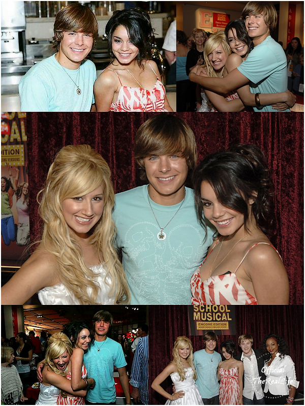 © Official-TheRealLife™  18/05/2006  ※  Zac et Vanessa assistant au High School Musical DVD Release Screening.  _