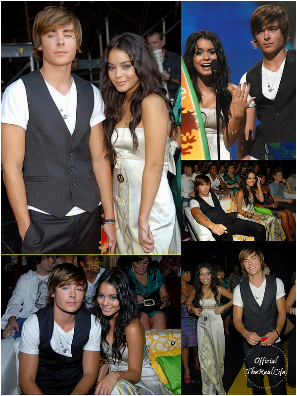 © Official-TheRealLife™  26/08/2007  ※  Zac et Vanessa au Teen Choice Award 2007 à Los Angeles.  _