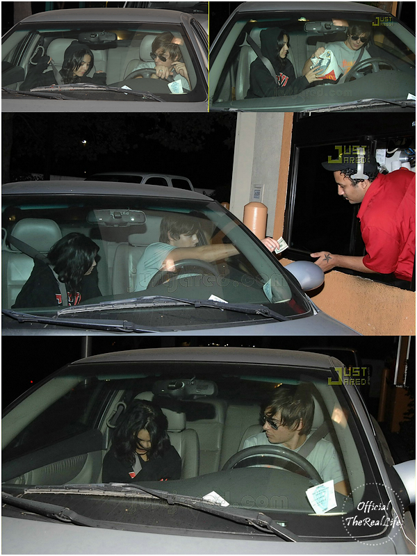 © Official-TheRealLife™  16/09/2007  ※  Zac et Vanessa au McDonald drive à Los Angeles.  _