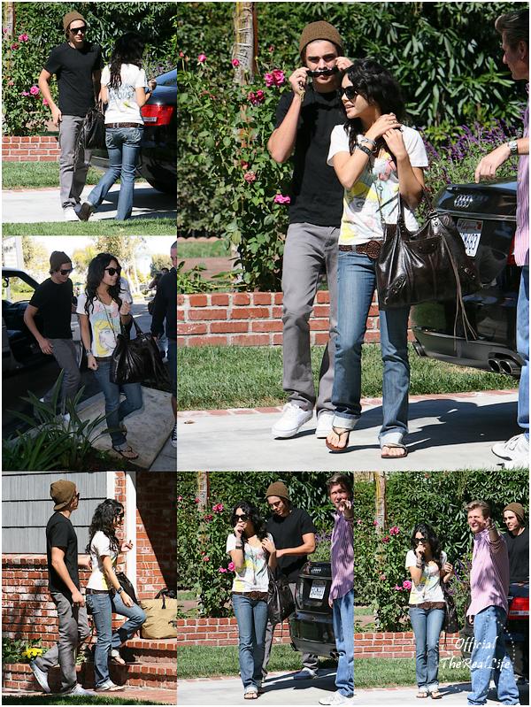 © Official-TheRealLife™  26/09/2007  ※  Zac et Vanessa se rendant chez un(e) ami(e)s dans Los Angeles.  _