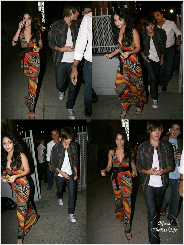 © Official-TheRealLife™  24/10/2007  ※  Zac et Vanessa au 2008 Spring Collection Fashion Show de Frederick's à Los Angeles.  _