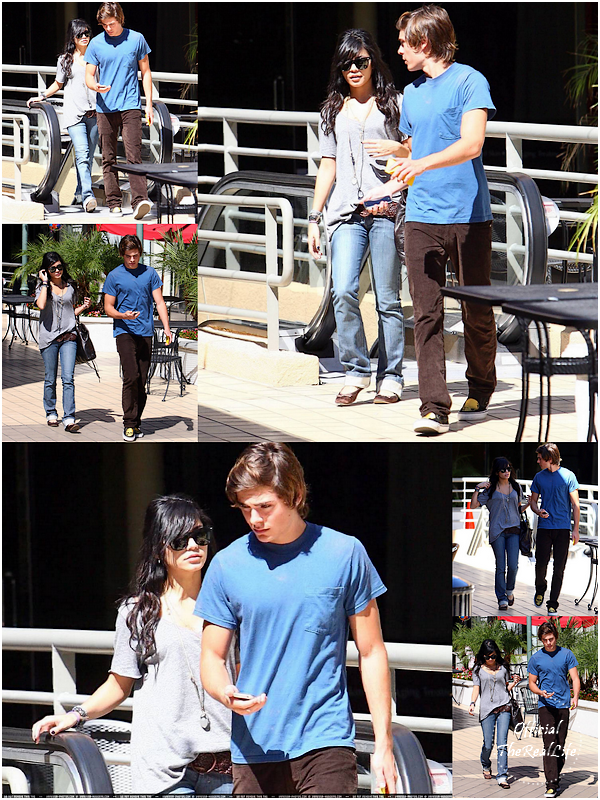 © Official-TheRealLife™  25/09/2007  ※  Zac et Vanessa allant déjeuner à la California Pizzeria de Los Angeles .  _