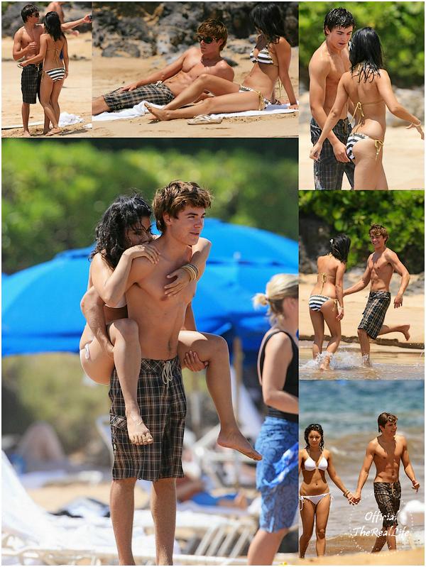 © Official-TheRealLife™  Début Mai/2007  ※  Zac et Vanessa repéré pendant leurs première vacances en amoureux  à Hawaï.  _
