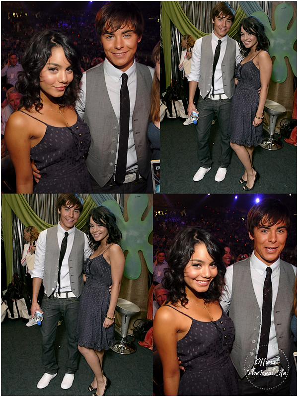 © Official-TheRealLife™  31/03/2007  ※  Zac et Vanessa au Nickelodeon's 20th Annual Kids' Choice Awards à Los Angeles.  _