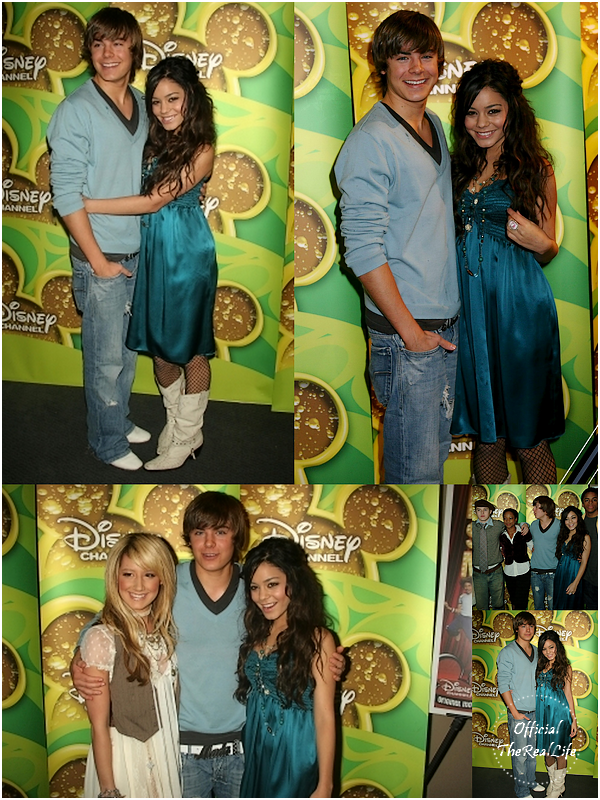 © Official-TheRealLife™  14/01/2006  ※  Zac et Vanessa pour le High School Musical Disney Channel's Screening.  _