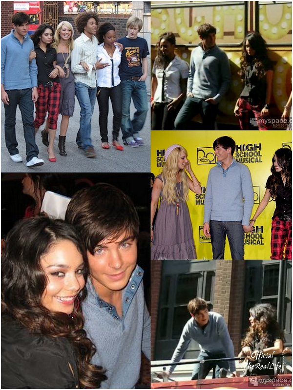 © Official-TheRealLife™  09/10/2006  ※   Zac et Vanessa au High School Musical Trip à Londres, Angleterre.  _