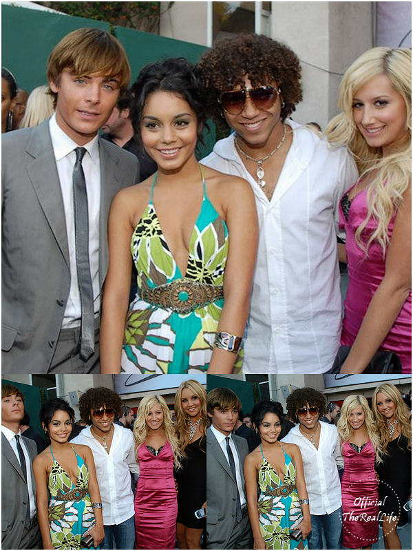 © Official-TheRealLife™ 03/06/2007  ※  Zac et Vanessa au MTV Movie Award 2007 à Los Angeles.  _
