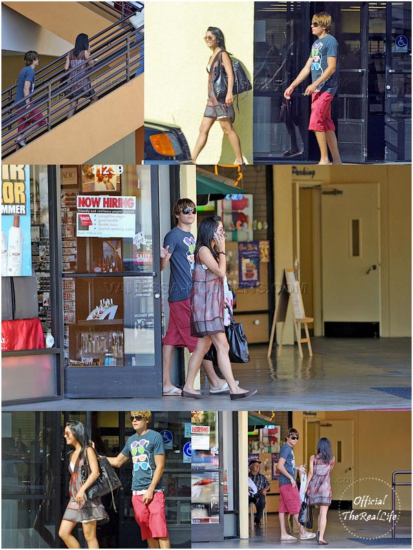 © Official-TheRealLife™  26/06/2007  ※  Zac et Vanessa de sortie shopping dans Los Angeles.  _