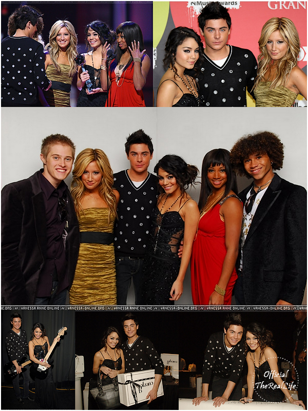 © Official-TheRealLife™  04/12/2006  ※  Zac et Vanessa présent au BillBoard Music Award à Las Vegas.  _