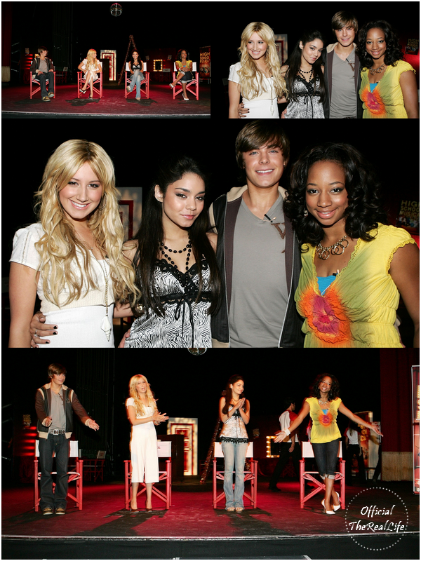 © Official-TheRealLife™  26/05/2006  ※  Zac et Vanessa pour High School Musical Press Conference en Australie.  _