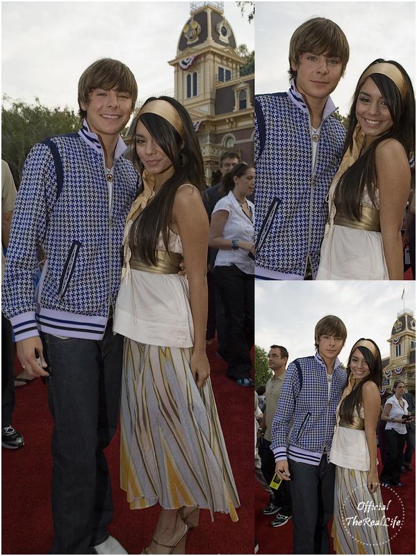 © Official-TheRealLife™  24/06/2006  ※  Zac et Vanessa à la première de Pirates des Caraibes à Los Angeles.  _