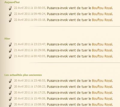 Donjon Bouftou !