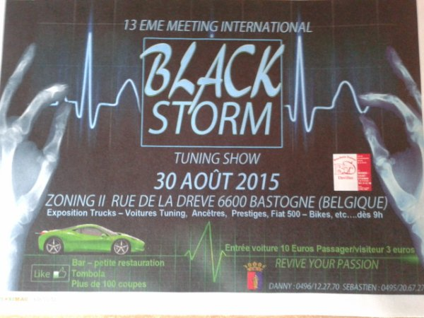 meeting Black Storm