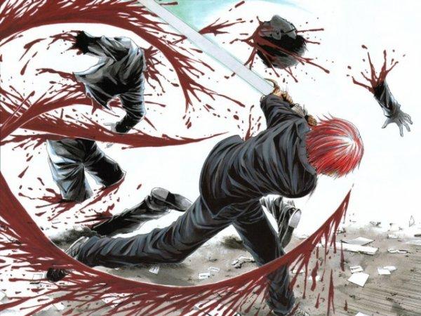 le sang des ennemis
