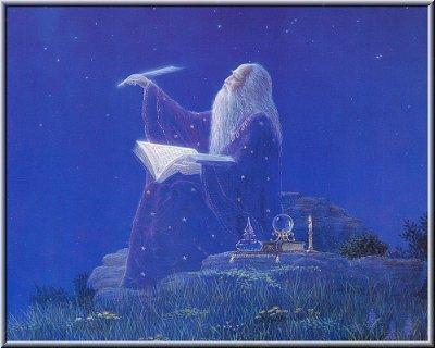 la forêt de Brocéliande et Merlin l'Enchanteur
