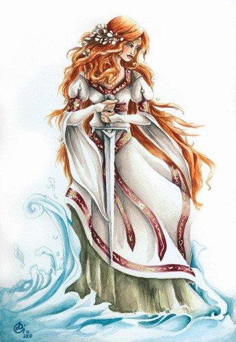 La Fée Viviane (Dame du Lac)