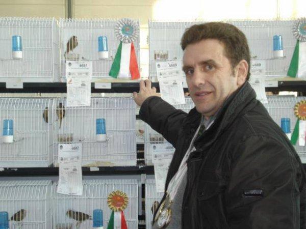 Championnat d'Italie  2012. Une belle expérience .......et beaucoup de satisfaction!