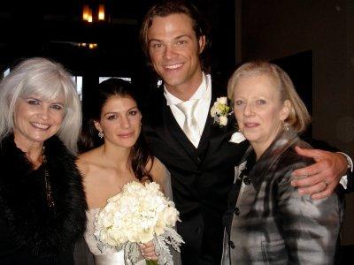 quelque photo du mariage a Jared