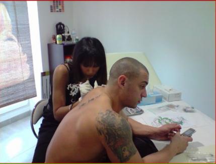 tattoo realiser par moi jvous fait partager un peut ske jfait de mes dix doigts