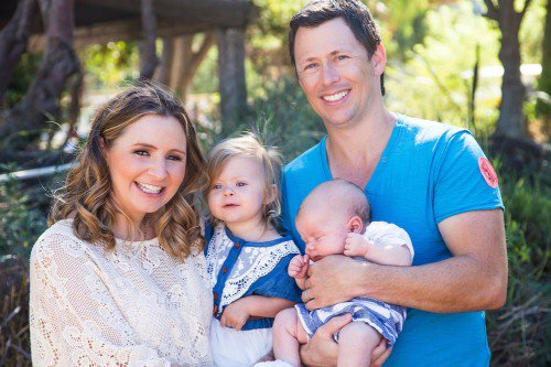 Beverley Mitchell & Sa Famille