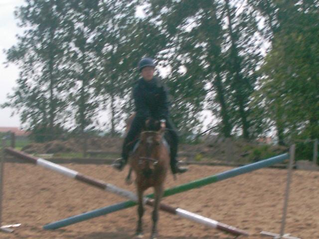 seb a l'equitation