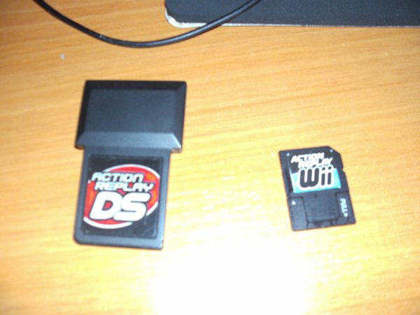 les action replay wii et action replay sur ds