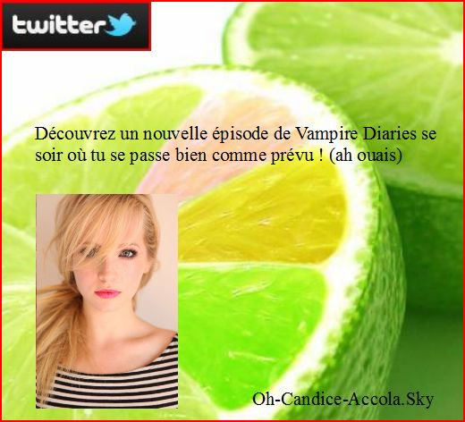 News : Important, vampire Diaries se soir au USA