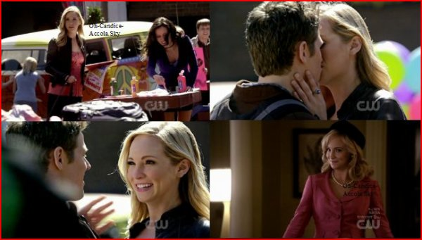 """Hier avait lieu au USA la diffusion de l'épisode 2.18 : """"The Last Dance"""" de TVD. Candice parle aussi de Caroline de la saison 2."""