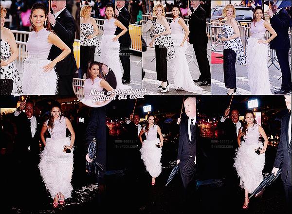 • Apparition publique - 01/06/2015 : Nina Dobrev s'est rendue à la cérémonie des CFDA Fashion Awards. Après 3 mois sans apparition publique, la belle se montre enfin ! La cérémonie a eu lieu à New York, cependant Nina nous fait un flop..