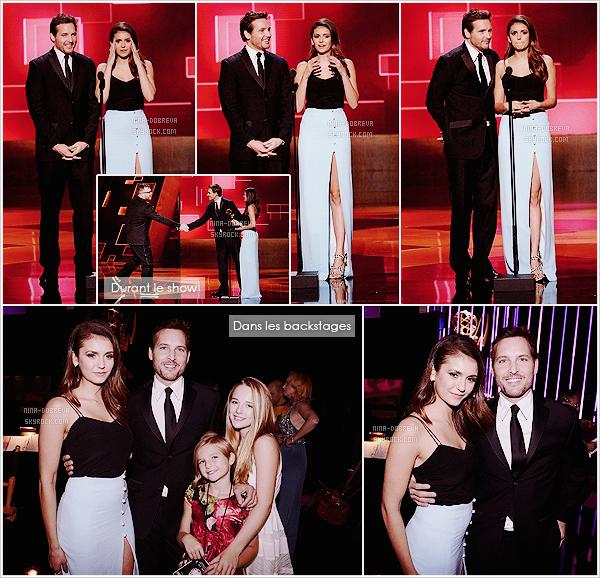 • Apparition publique - 12/09/2015 : Nina s'est rendue aux Creative Arts durant les Emmy Awards à LA !  Nina est allée à cette soirée à l'occasion des Emmy Awards, accompagnée notamment par la famille Hough ! Elle est magnifique