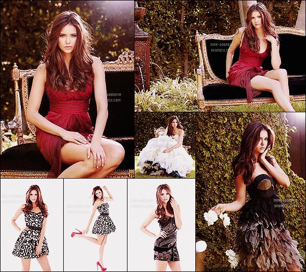 .• • Découvrez/redécouvrez un shoot de Nina photographiée durant l'année 2010 par J. Russo !