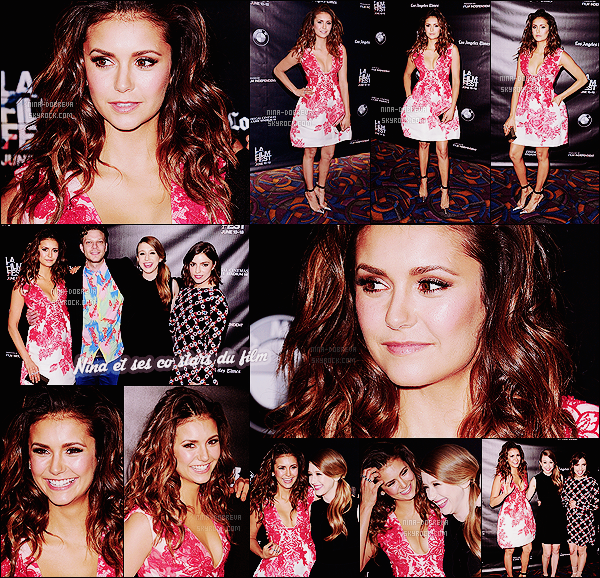 • Apparition publique - 16/06/2015 : Nina s'est rendue à la projection de son dernier film The Final Girls ! Nina Dobrev était présente au Festival du Film à Los Angeles, afin d'assister à la projection de son film The Final Girls. Un gros top !