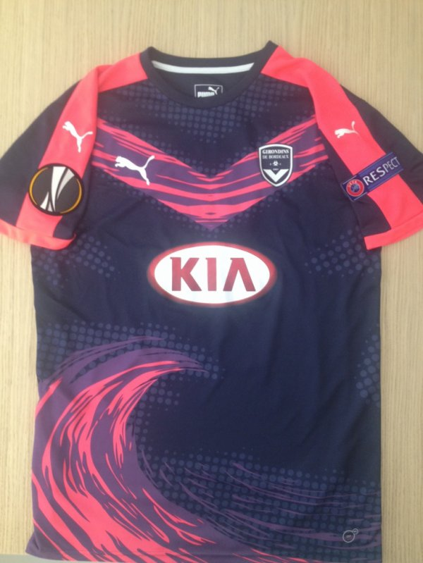 Maillot 218 bordeaux face