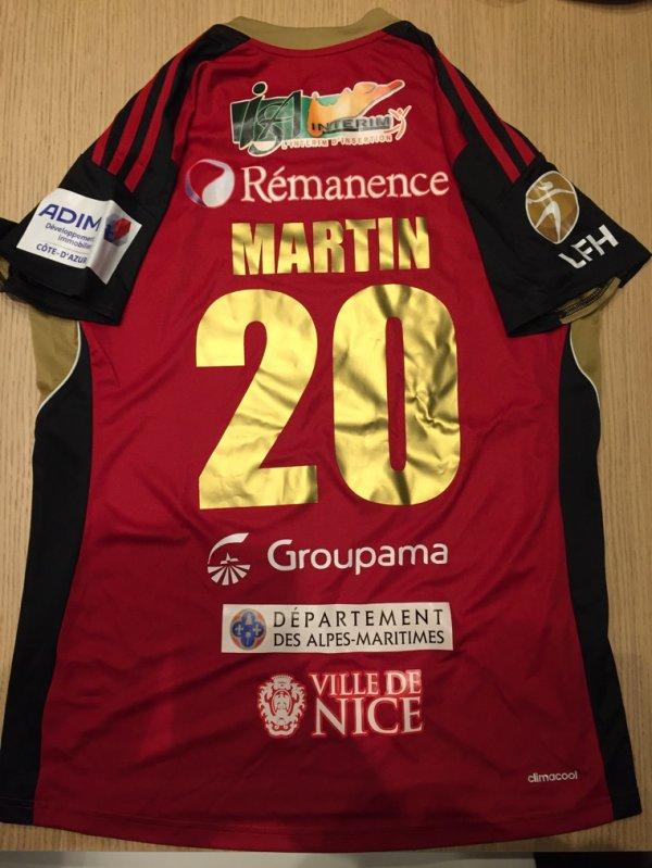 Maillot 233 handball féminin Nice