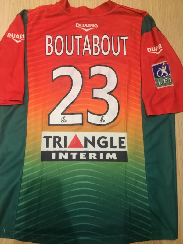 Maillot 237 dos Sedan boutabout