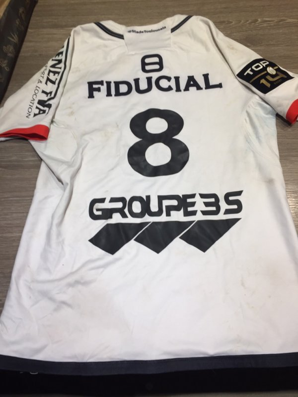 Maillot 244 Toulouse picamoles dos