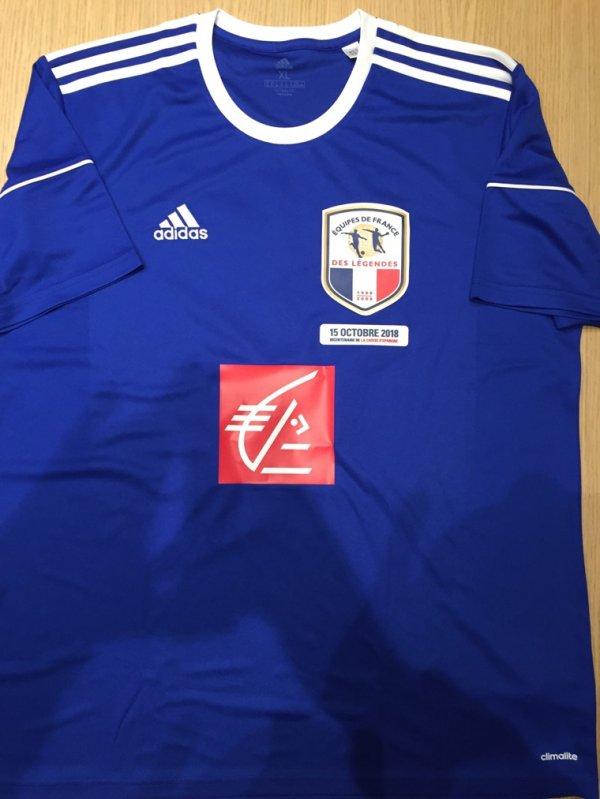 Maillot 246 équipe de France blanc