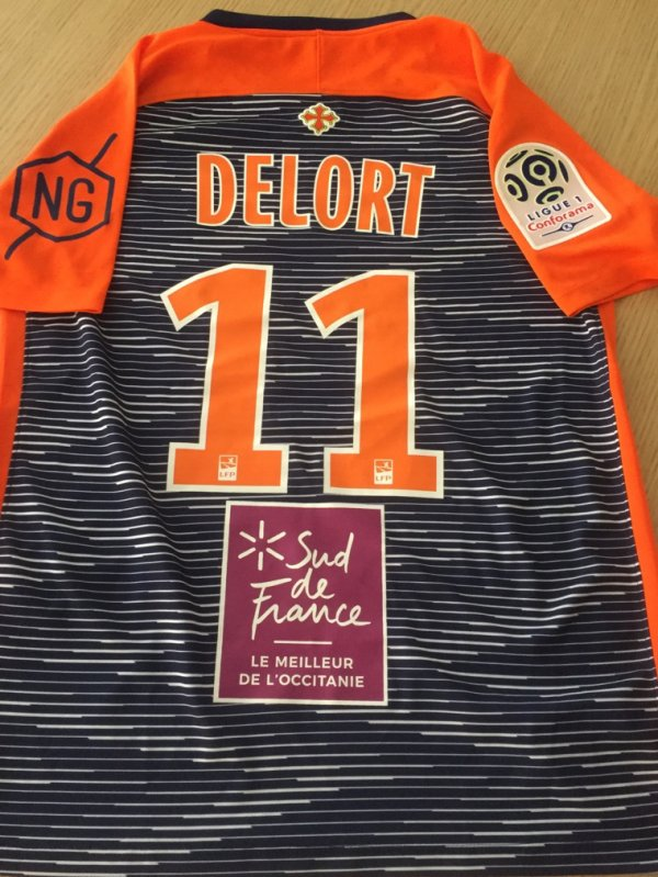 Maillot 254 Andy delort montpellier