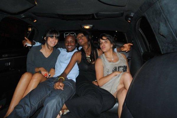 petit tour en limousine entre amis