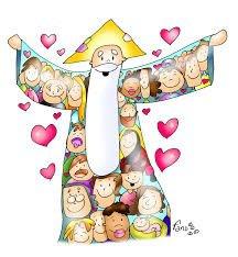 Amarás al Señor con todo tu  corazón, con toda tu mente, con todas tus fuerzas..... El segundo es semejante al primero:  Amarás al prójimo como a ti mismo»