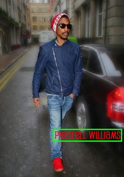 PHARRELL ` WILLIAMS ( L )