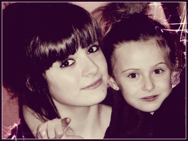 Ma petite soeur. ♥♥
