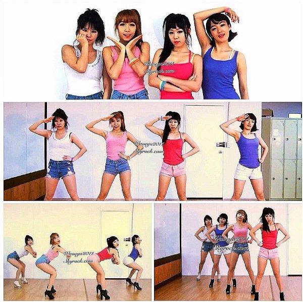 GIRL'S DAY(걸스데이) FEMALE PRESIDENT(여자대통령)Waveya 웨이브야 Korea dance team